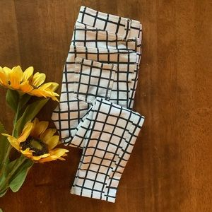 Girls 5-6y H&M Pant with Square/Geometric Design